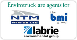 Envirotruck Limited are agents for NTM, BMI Group and Labrie enviro group